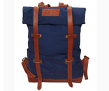 TOC Signature backpack - Canvas| Blue/Brown