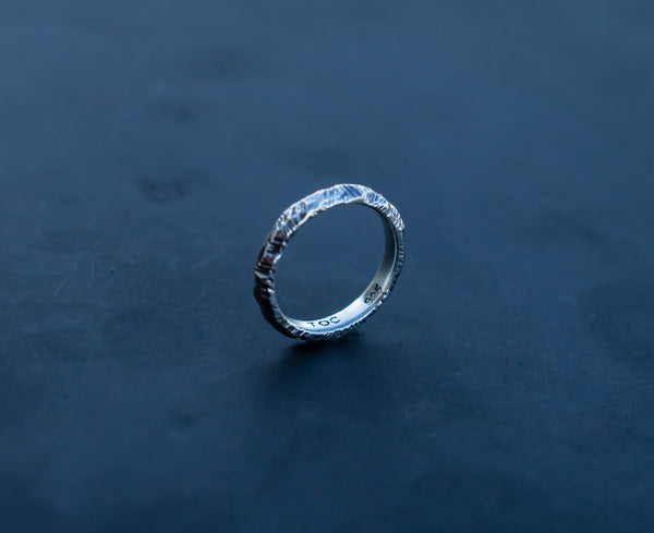 Raw Stack Ring - Small