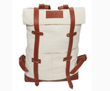 TOC Signature backpack - Canvas| White/Brown