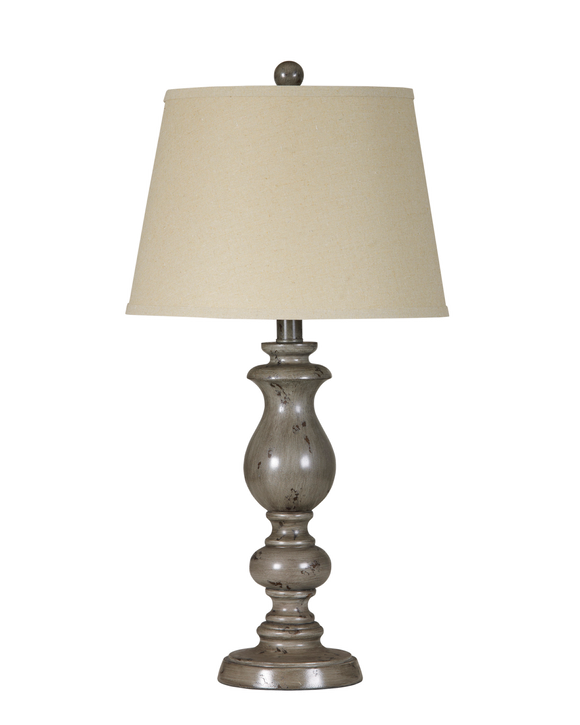 Silvine Table Lamp Pair