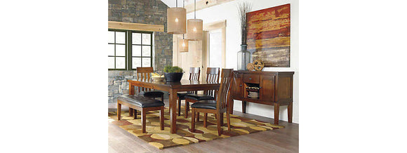 Ralene Casual 6 Piece Dining Set