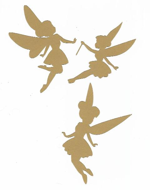 Fairy pack set of three adorable fairies