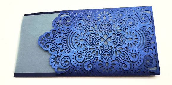 Decorative envelope for invitations or place card