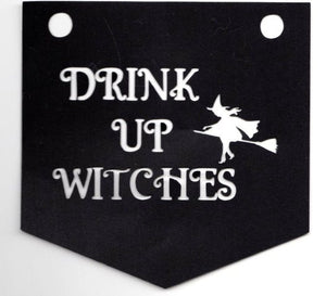 Drink up witches bunting set of four
