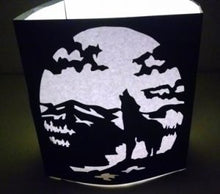 Wolf pack set of five luminaries