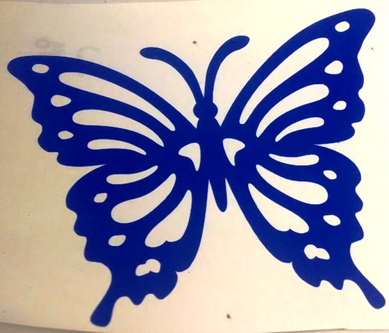 Beautiful butterfly vinyl decal