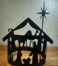 Extra large Nativity scene silhouette
