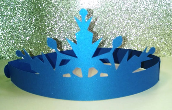DIY Adjustable Ice crown