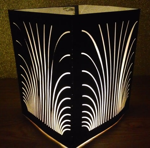 Vintage Jazz club style centerpiece / luminary