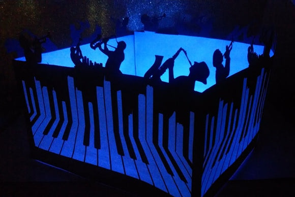 DIY Big band centerpiece / luminary