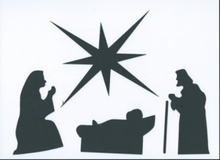 Nativity scene set of 18