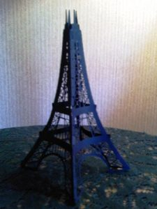 DIY 3D DIY Eiffel tower