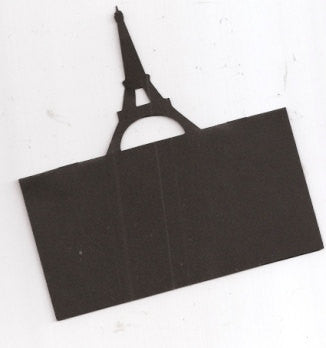 Eiffel tower place card set of 6