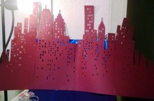 DIY 22 inch tall New York skyline