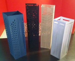DIY skyscraper set of four collection three