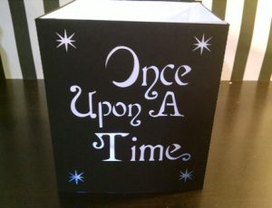 DIY Once upon a time luminary