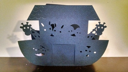 DIY Noah's ark box