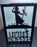 little Bo Peep centerpiece / luminary