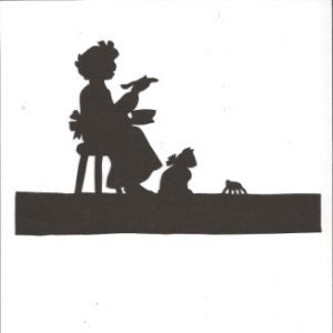Little Miss Muppet Mother Goose collection silhouette