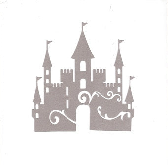 Decorative castle silhouette