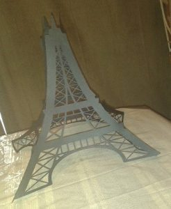 3D DIY Eiffel tower large
