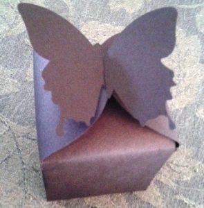 DIY Butterfly favor boxes set of six