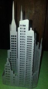 DIY 3D New York City skyline