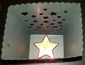 DIY Star luminary set of six