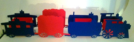 All aboard for the DIY candy train set of 6
