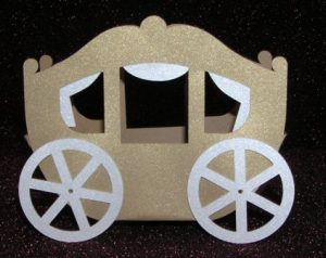 DIY Fairytale carriage box set of 6