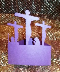 Crucifixion centerpiece