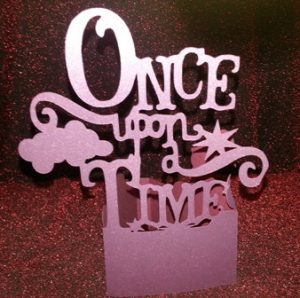 DIY Once upon a time centerpiece