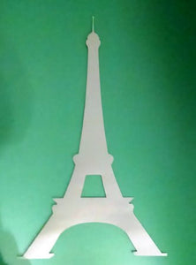 18″ Eiffel tower silhouette