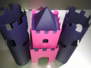 DIY 3D castle number 2