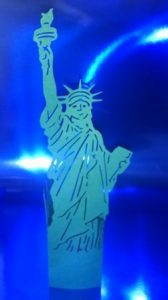 DIY Statue of Liberty stand up