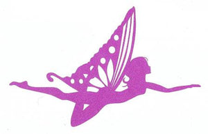 Butterfly fairy silhouette