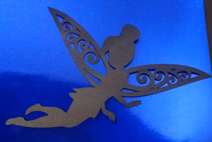 Adorable fairy silhouette set of four