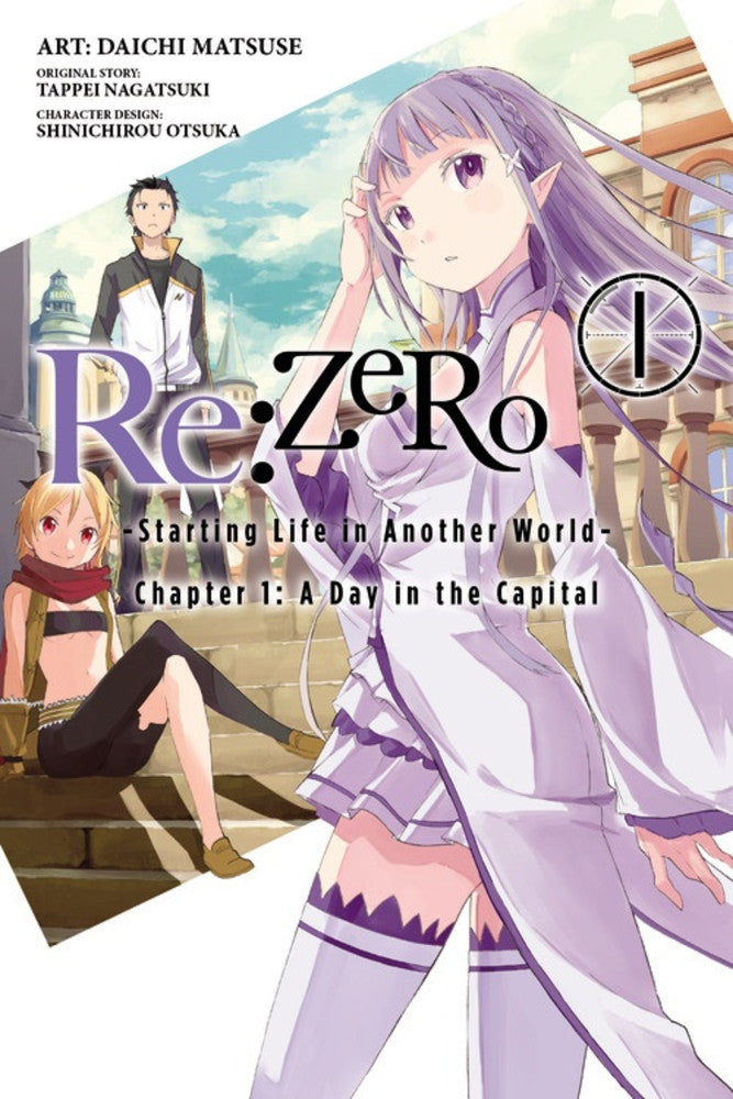 Re:Zero Chapter 1 Manga en Inglés