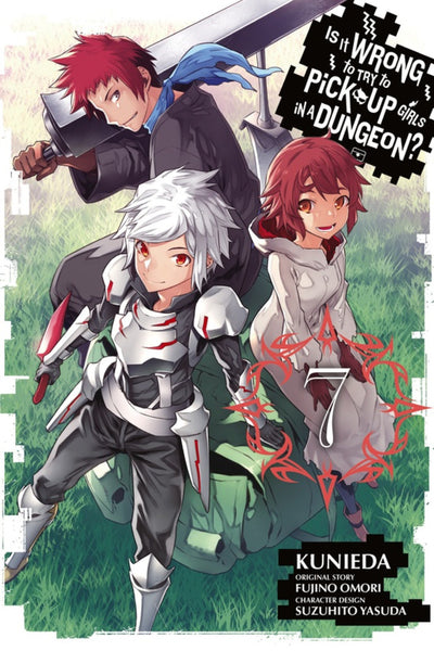 Is it Wrong to Try to Pick Up Girls in A Dungeon en Inglés