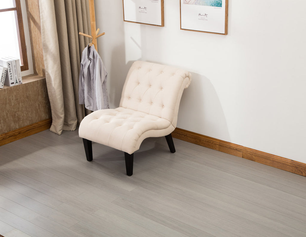 EcoFusion - NARROW PLANK SAMPLE - AUTUMN FOG COLOR: Nail or Glue-Down Installation: FREE SAMPLE