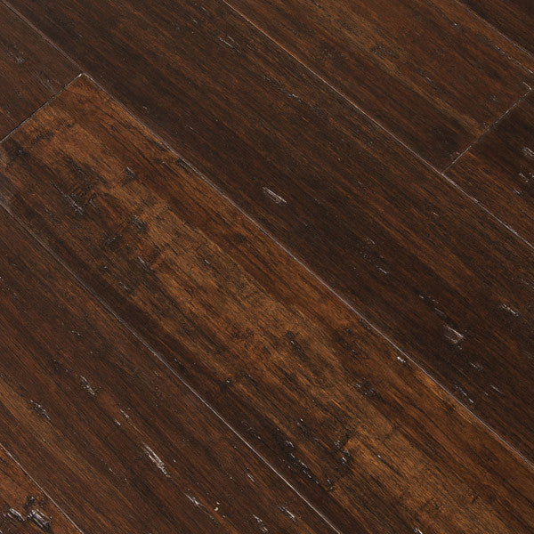 Trinity Bamboo Burnt Umber Solid Flooring Sample