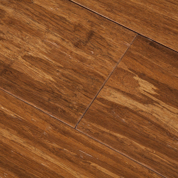 Solid Strand Bamboo Flooring: Carbonized