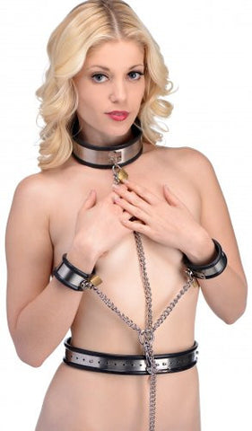 Bound In Chains Stainless Steel Restraint Set