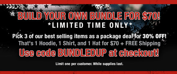 Build Your Own Bundle for $70!