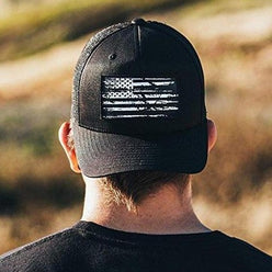 White Flag Patch | Flexfit Cap