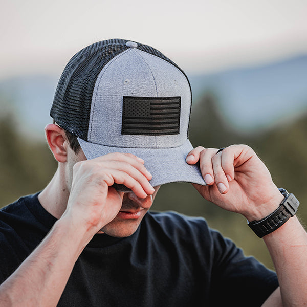 Heather Gray | Snapback Cap
