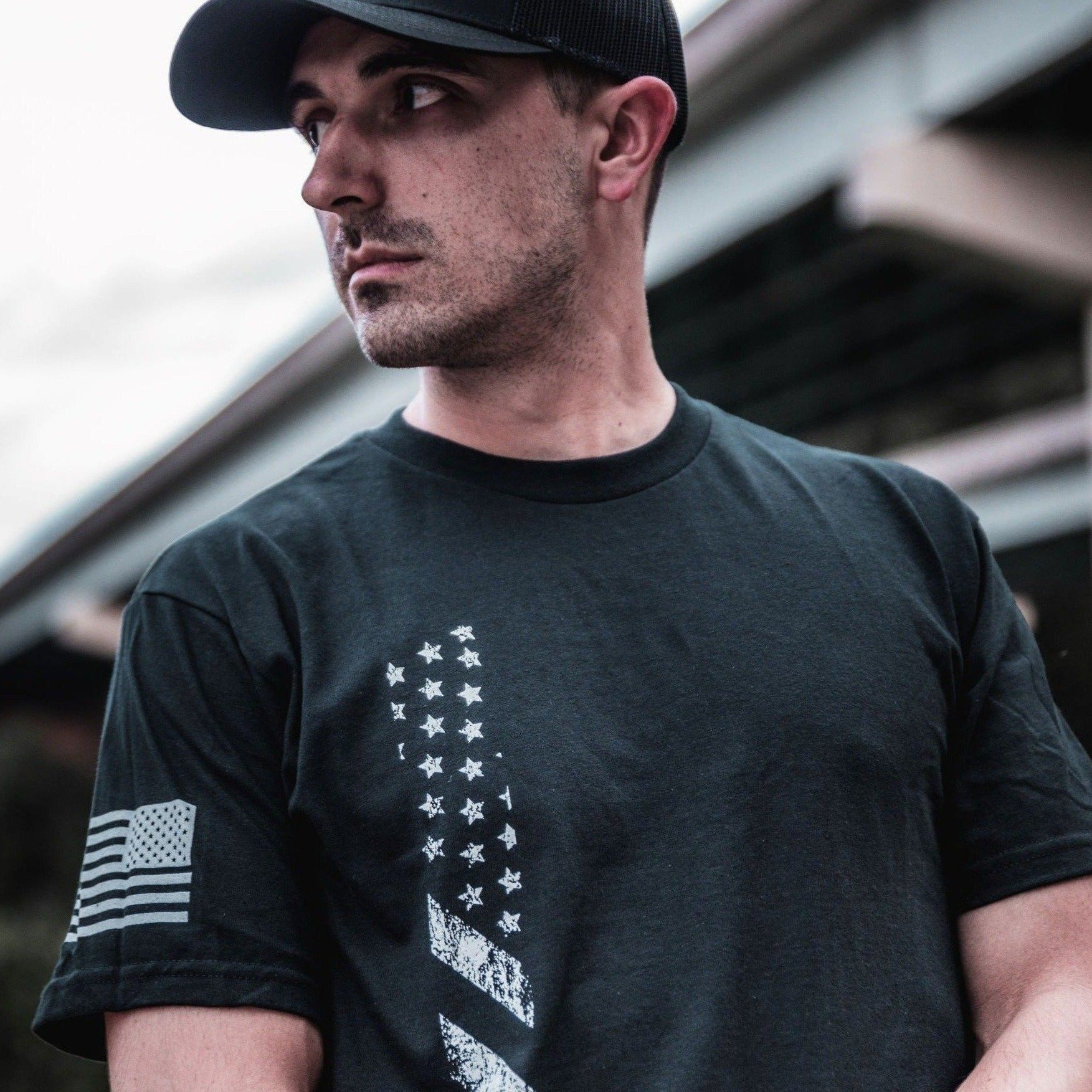 Glory Stripe | Mens Tee