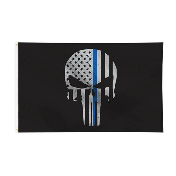 Accessories - Blue Line Punisher | Flag