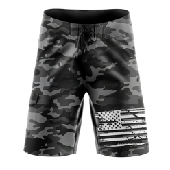 Board Shorts - Black Camo | Board Shorts