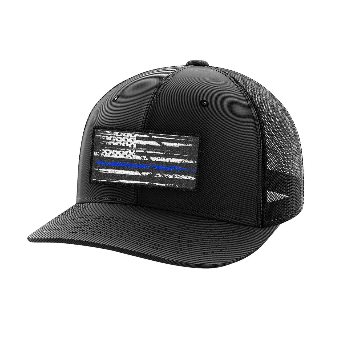 Headwear - Blue Line Patch | Flexfit Cap